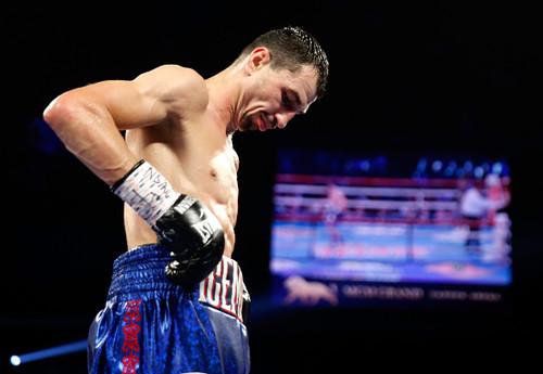 Виктор Постол побывал внокдауне, однако  одержал победу  бой