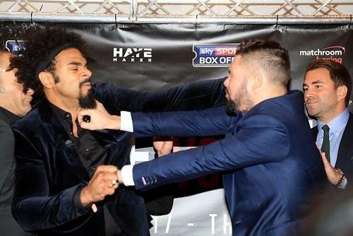 www.boxingscene.com. Дэвид Хэй и Тони Беллью
