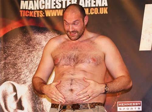 Британский боксерский совет остановил действие лицензии Тайсона Фьюри