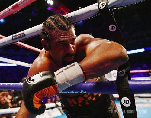 Боксер Дэвид Хэй получил травму ипроиграл чемпиону мира Тони Белью