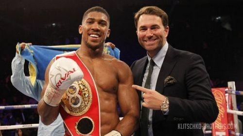 Эдди Хирн: «Верю, что 29апреля Джошуа будет новым королём бокса»
