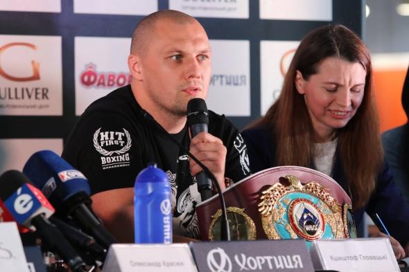 Усик— Гловацки: онлайн-трансляция бокса